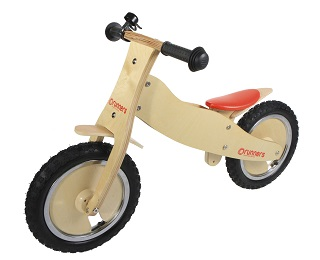 Classic Runners Wooden Bike