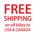 Free Shipping On All Balance Bikes To US and Canada