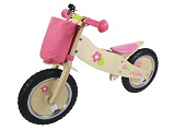 Princess Runners Wooden Bike